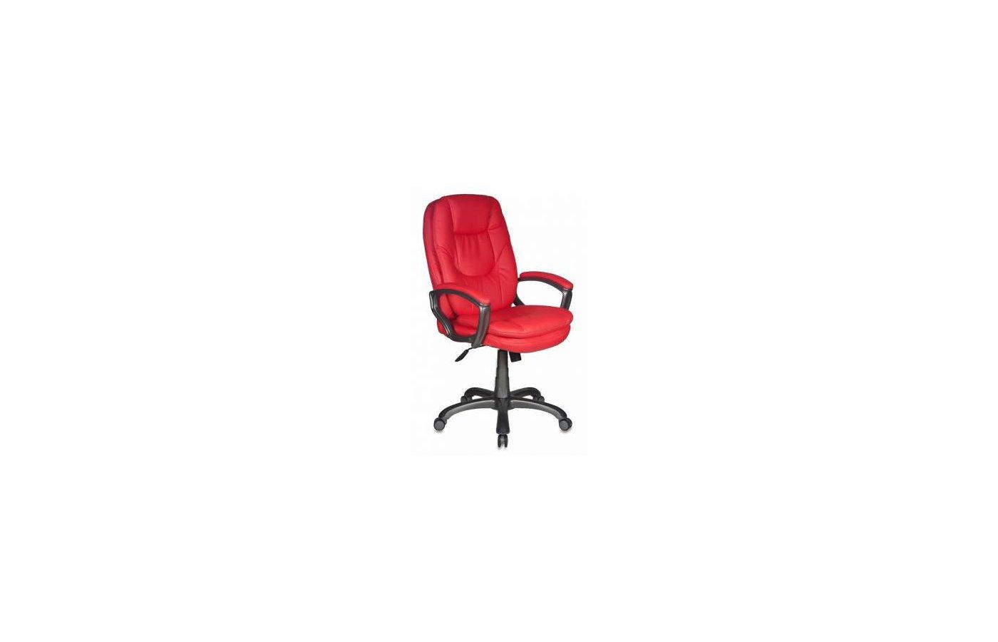 Бюрократ CH-868AXSN/Red красный искусственная кожа (пластик темно-серый)