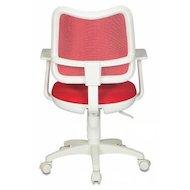 Фото Бюрократ CH-W797/R/TW-97N спинка красный сетка TW-35N сиденье красный TW-97N (белый пластик)