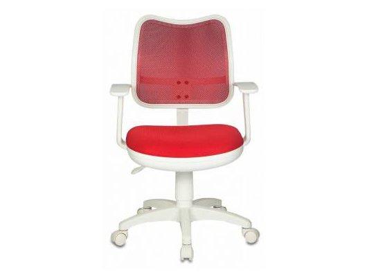 Бюрократ CH-W797/R/TW-97N спинка красный сетка TW-35N сиденье красный TW-97N (белый пластик)