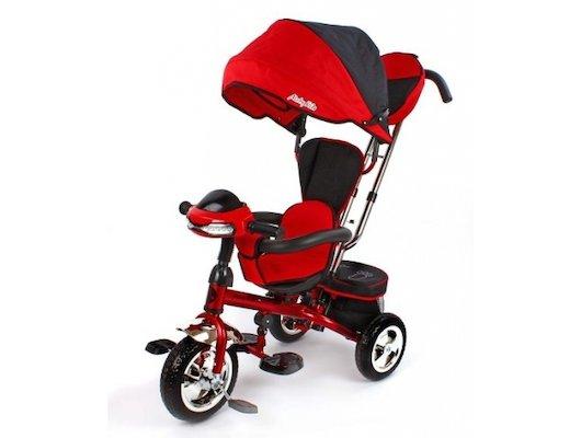 Велосипед Moby Kids 64568 Трайк Комфорт-Ультра красный