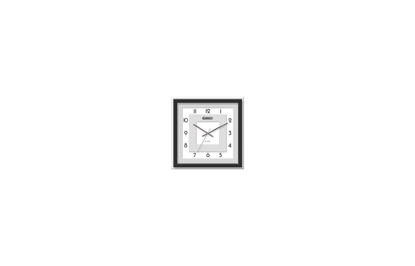 Часы настенные Energy EC-11 квадратные