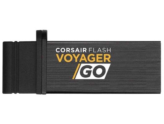 Флеш-диск Corsair 64Gb Voyager GO CMFVG-64GB-EU USB3.0 черный