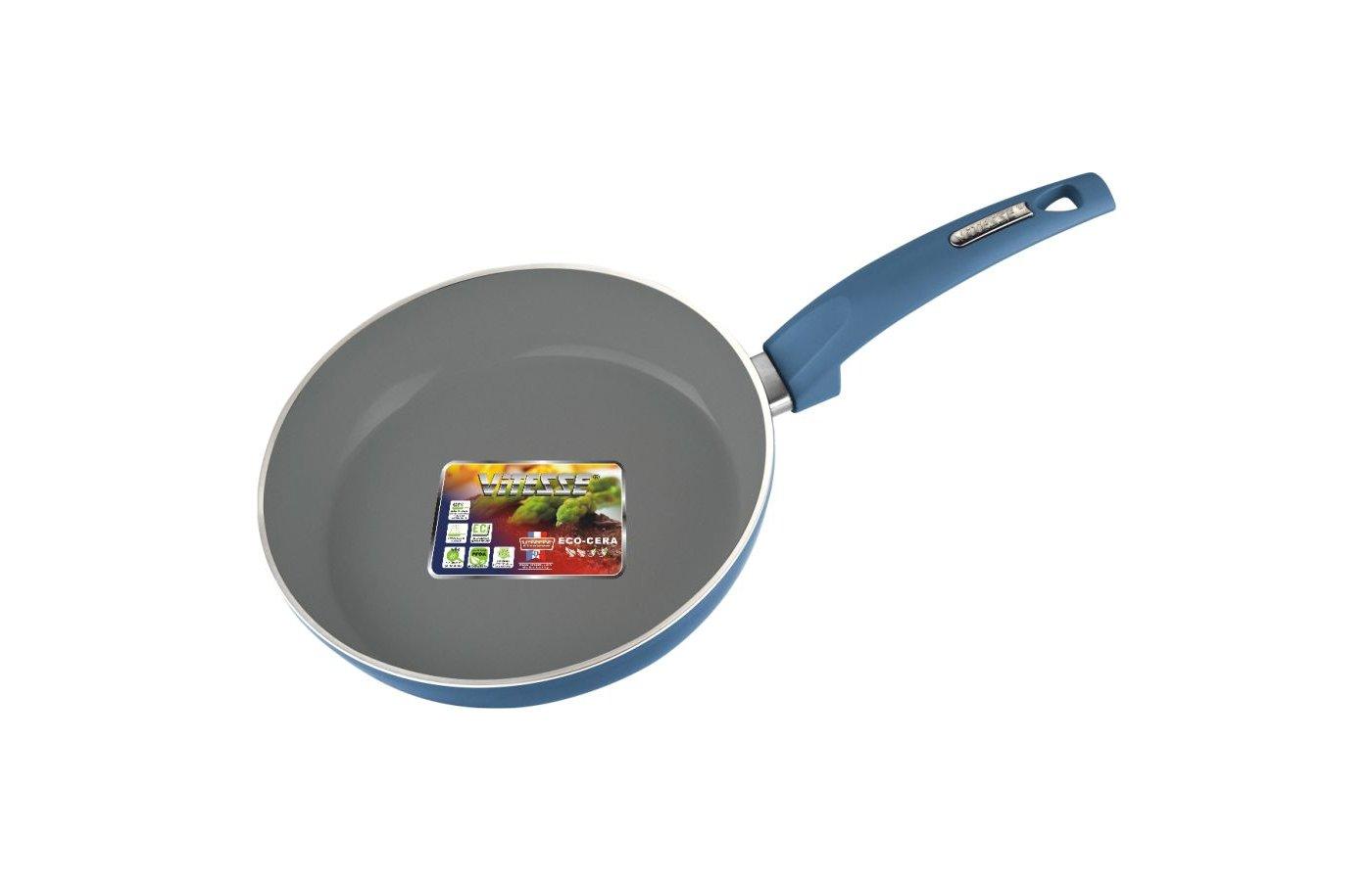 Сковорода VITESSE VS-2507 Сков 24см ков ал 3мм кер