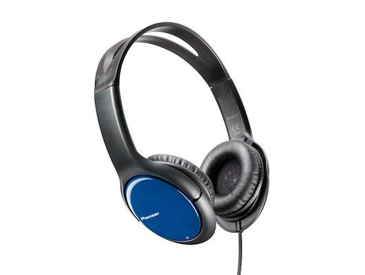 Наушники накладные  PIONEER SE-MJ711-L синий