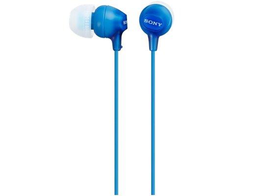 Наушники вкладыши SONY MDR-EX15LP синий