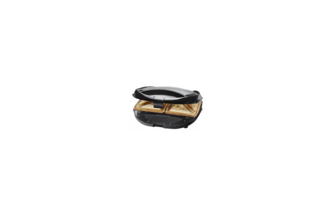 Бутербродница CLATRONIC ST/WA 3490 schwarz-inox