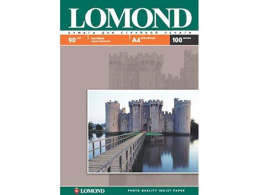 Фотобумага Lomond 0102029 A4/90г/м2/25л. матовая для струйной печати до 2880dpi