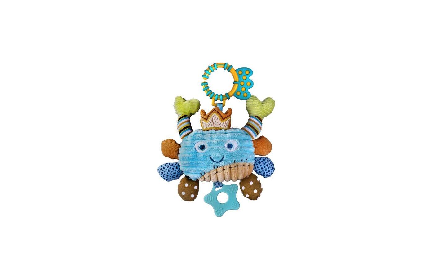 Игрушка Жирафики 93868 Подвеска Крабик