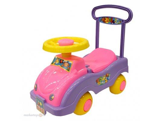 Каталка Совтехстром У447 Автомобиль для девочек