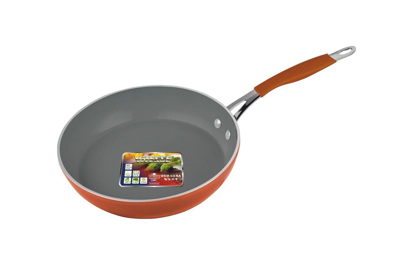 Сковорода VITESSE VS-2513 Сков с/кр,24см к.ал. Кер