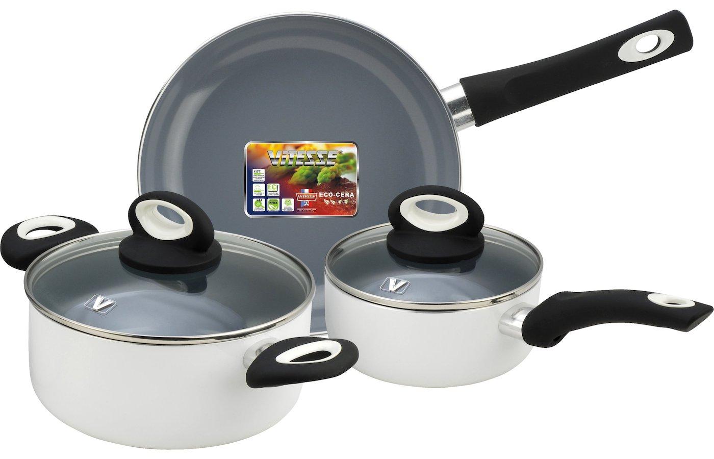 Набор посуды  VITESSE VS-2906 Набор посуды 5 пр алюм