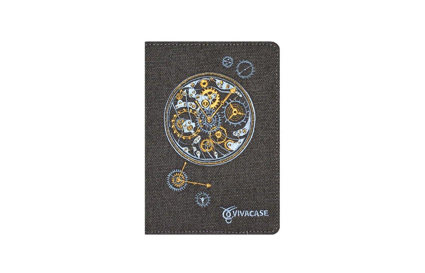 Чехол VIVACASE Сlockwork 6 дюймов черный (VUC-CCW06-bl)