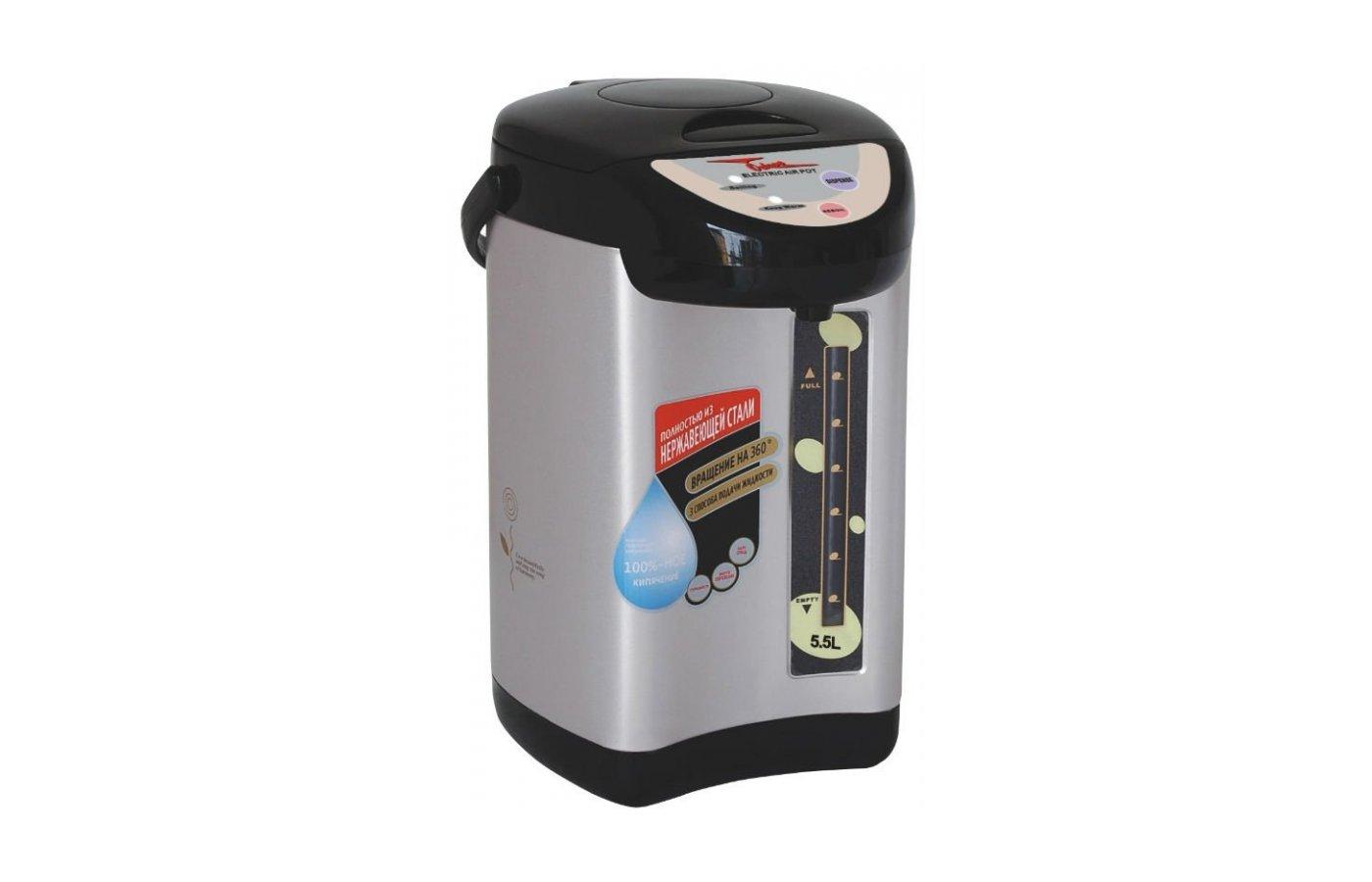 Чайник электрический  OCTAVO R-5.5ULA серебр.