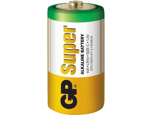 Батарейка GP Super LR20 D 2шт. (13A-BC2)