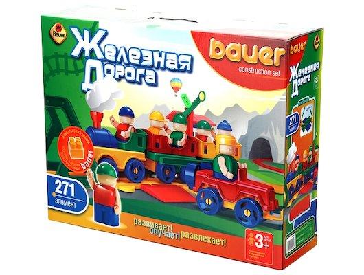 Конструктор Bauer 256 Железная дорога