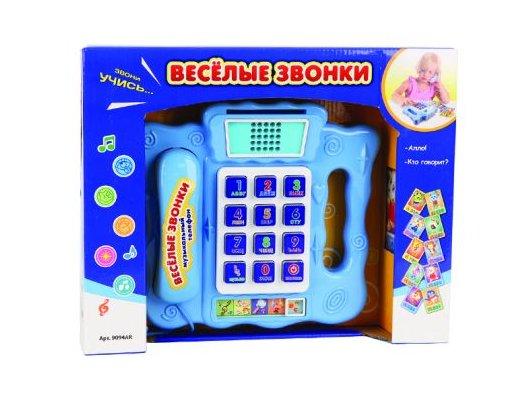 Игрушка Joy Toy 9094AR Телефон Веселые звонки