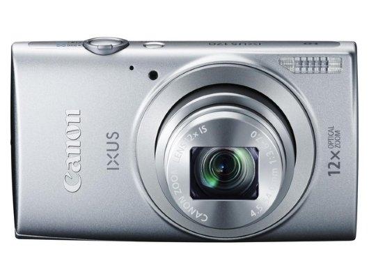 Фотоаппарат компактный CANON IXUS 170 silver