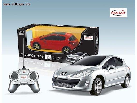 Игрушка RASTAR 39800 Машина PEUGEOT 308