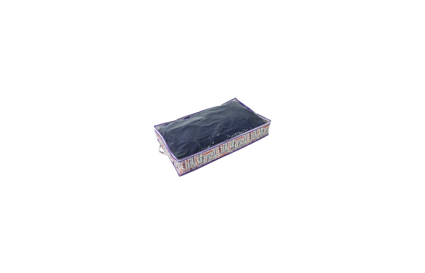 Емкости для хранения одежды VETTA 457-161 City Чехол-кофр для хранения подушек и одеял влагостойкий 80x45x15см