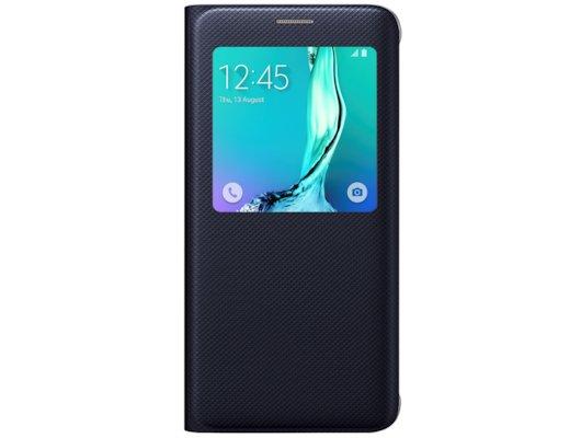 Чехол Samsung S-View для Galaxy S6 Edge+ (SM-G928) (EF-CG928PBEGRU) черный