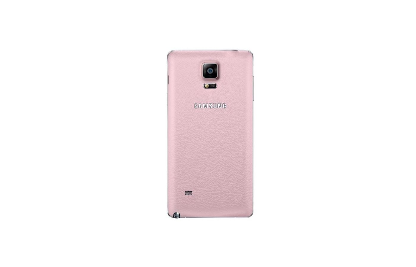 Чехол Samsung BackCover для Galaxy Note 4 (SM-N910) (EF-ON910SPEGRU) розовый
