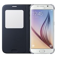 Фото Чехол Samsung S-View для Galaxy S6 (SM-G920) (EF-CG920PBEGRU) черный