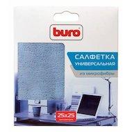 Фото Чистящее средство BURO BU-MF Салфетка из микрофибры 25 х 25 см для удаления пыли коробка 1шт сухая