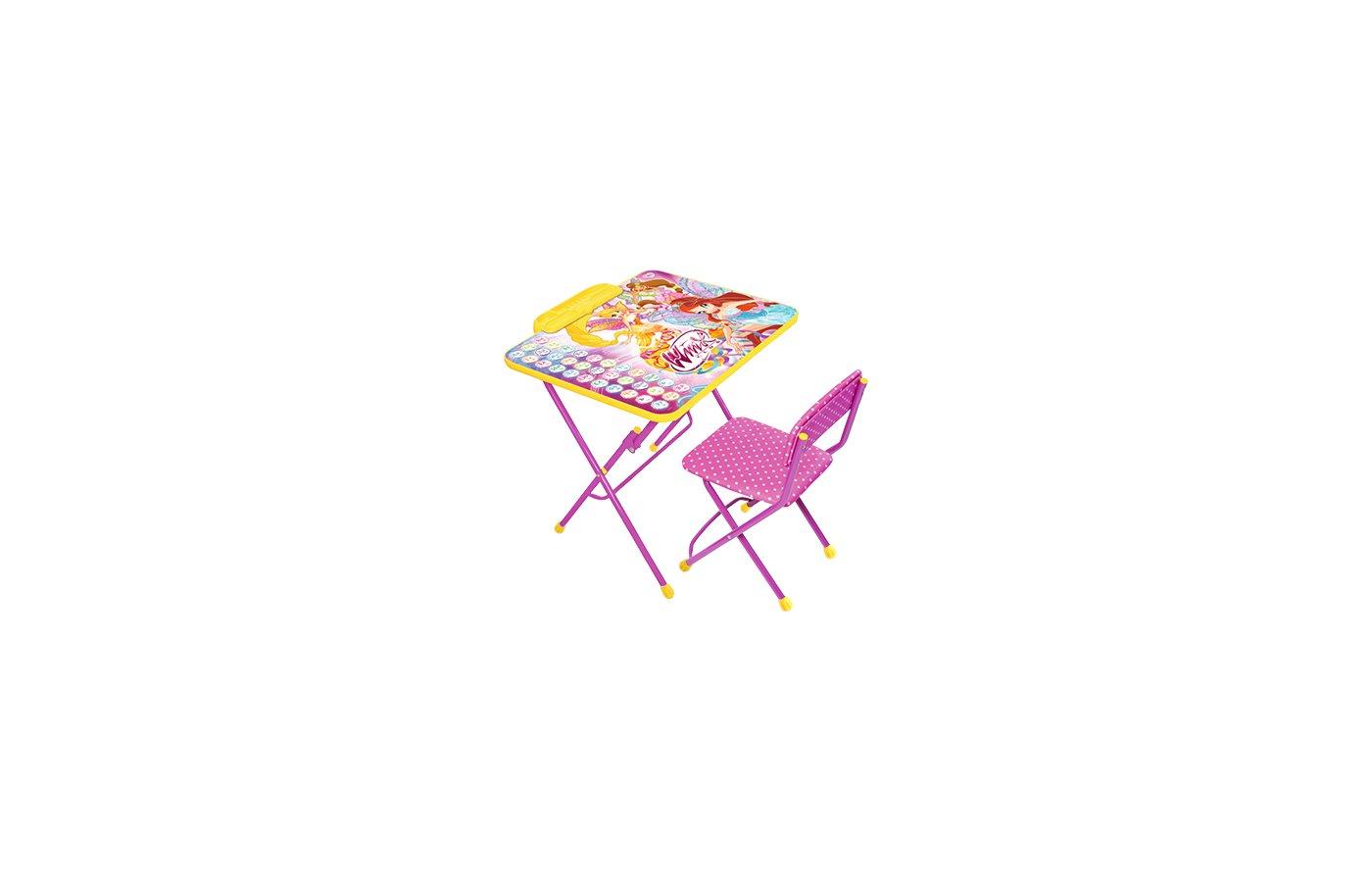 Nika В3А Набор мебели с пеналом Винкс 3-Азбука