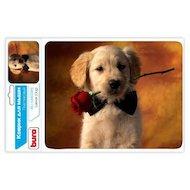 Фото Коврик для мыши BURO BU-M40089 рисунок/щенок
