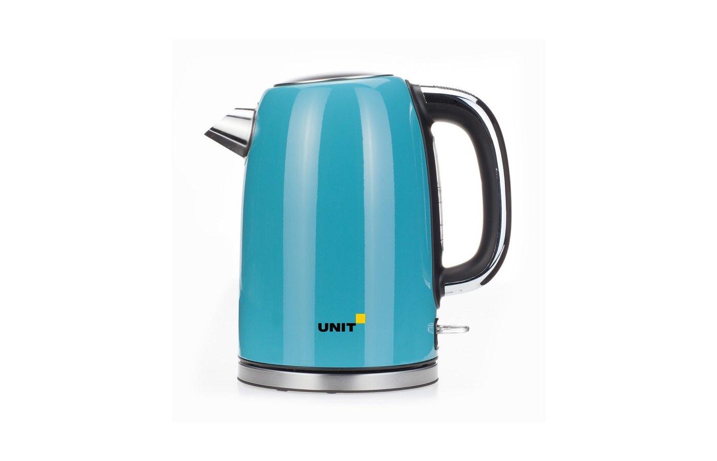 Чайник электрический  UNIT UEK-264 бирюзовый