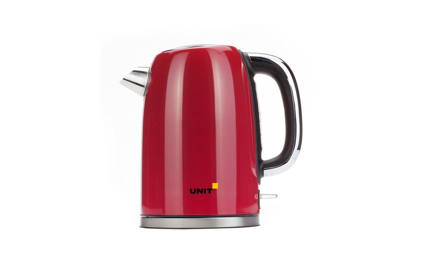Чайник электрический  UNIT UEK-264 красный