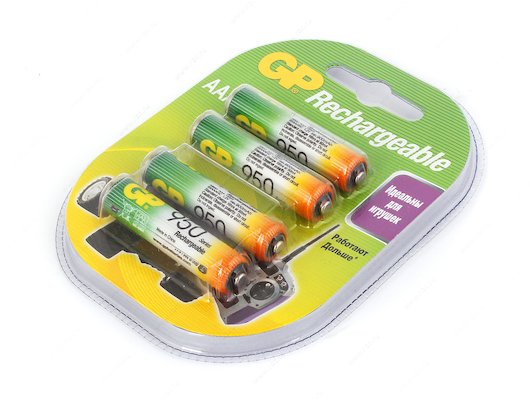Аккумулятор GP AAA 950mAh Ni-Mh 4шт. (95AAAHC-2DECRC4)