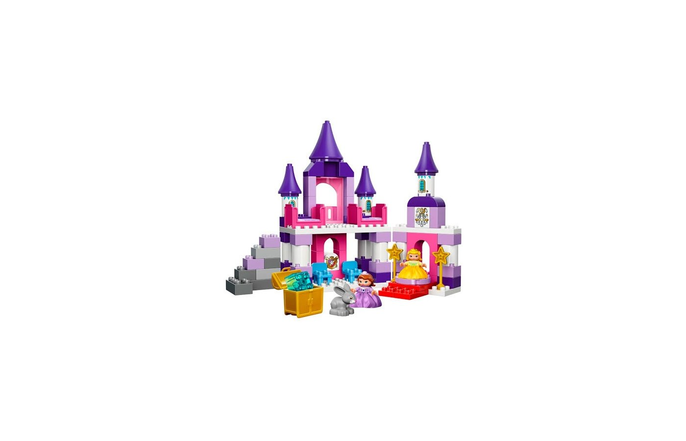 Конструктор Lego 10595 Дупло Королевский замок Софии