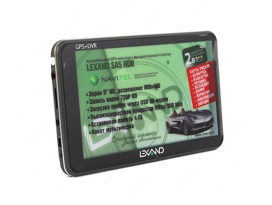 Навигатор LEXAND SA5 HDR