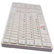 Фото Клавиатура проводная Oklick 555S белый USB slim Multimedia