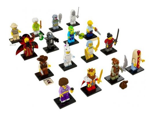 Конструктор Lego 71008 Минифигурка