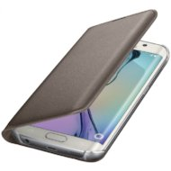 Фото Чехол Samsung Flip Wallet для Galaxy S6 Edge (SM-G925) (EF-WG925PFEGRU) gold