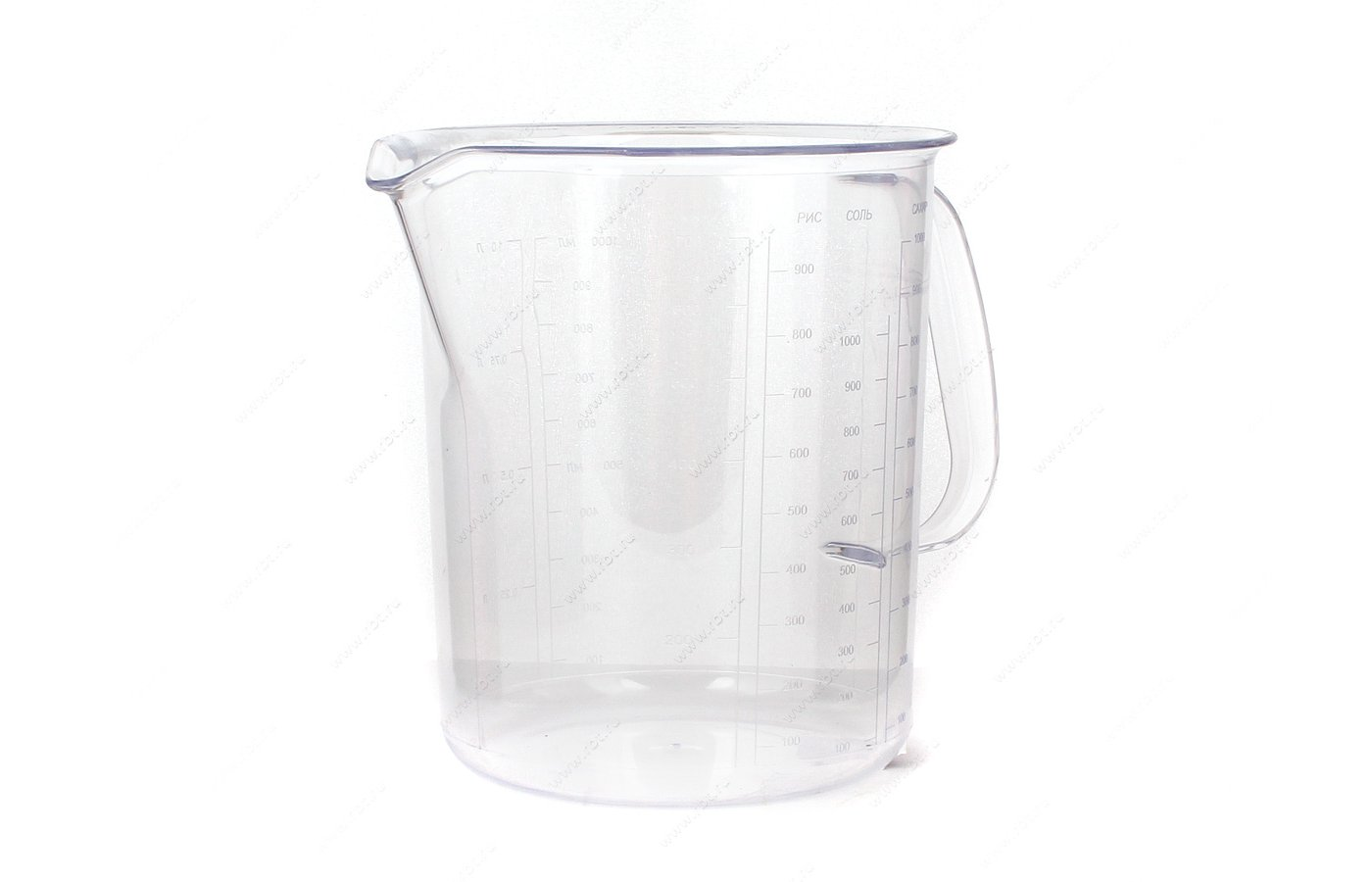 контейнеры для продуктов ПОЛИМЕРБЫТ с116 Кружка мерная 1.0л 11600