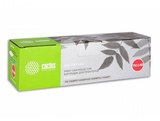 Картридж лазерный Cactus CS-TK1140 совместимый черный для KYOCERA FS-1035MFP DP, 1135MFP, M2535dn (7200стр.)
