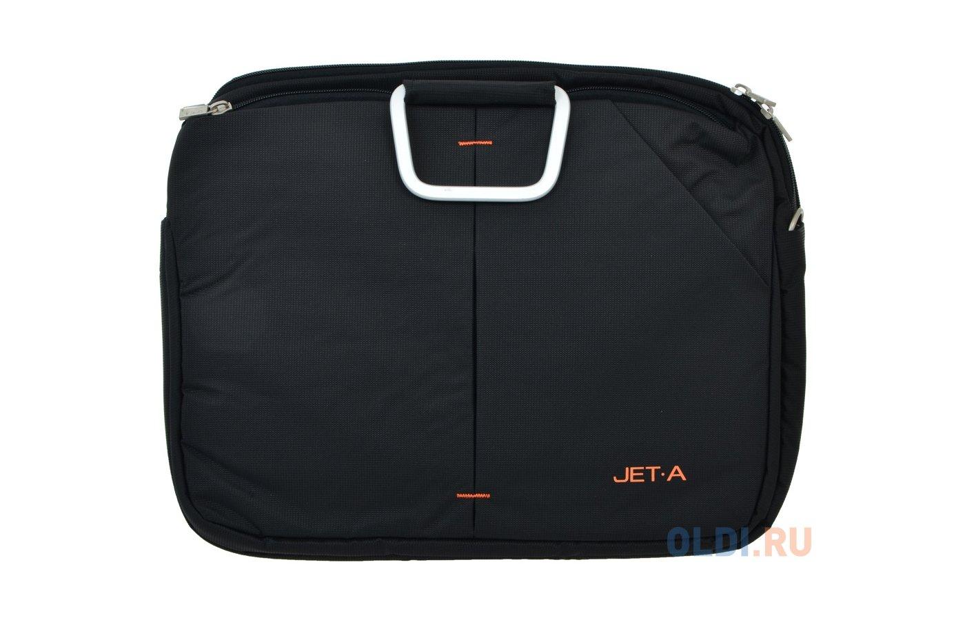 Кейс для ноутбука Jet.A LB15-28 до 15,6 (Черный, качественный нейлон/полиэстер, современный дизайн, SIZE 355x90x280мм)
