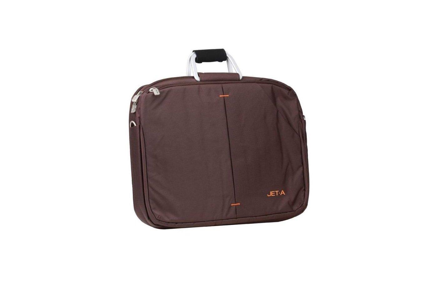 Кейс для ноутбука Jet.A LB15-28 до 15,6 (Коричневый, качественный нейлон/полиэстер, современный дизайн, SIZE 355x90x28