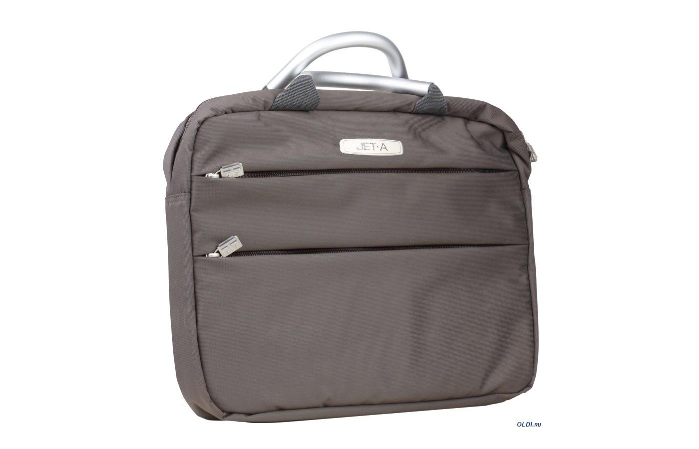 Кейс для ноутбука Jet.A LB13-04 до 13,3 (Серый, качественный нейлон/полиэстер, современный дизайн, SIZE 370x35x280мм)
