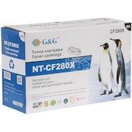 Фото Картридж лазерный GG NT-CF280X Совместимый тонер-картридж для HP LaserJet Pro 400 M401/M425 (6900стр)