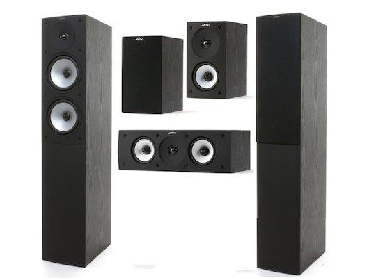 Комплект акустики JAMO S 526 HCS Black Ash