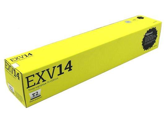 Картридж лазерный T2 Тонер совместимый TC-CEXV14 Black