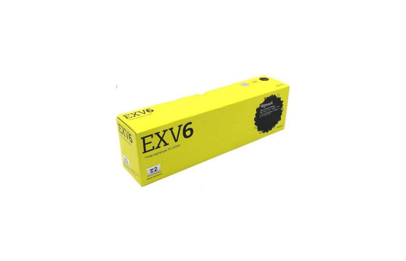 Картридж лазерный T2 Тонер совместимый TC-CEXV6 Black