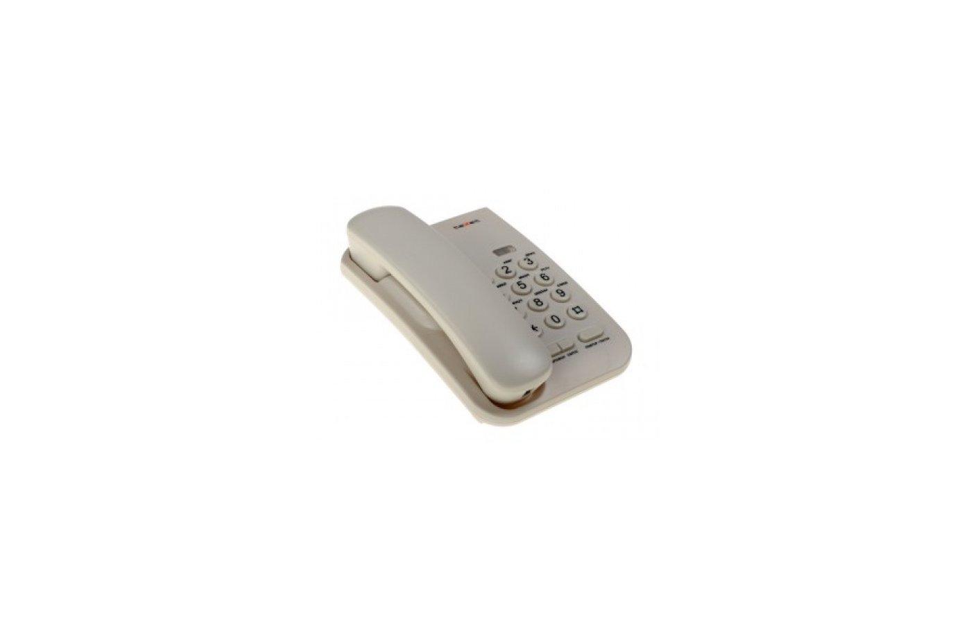 Проводной телефон Texet ТХ-212 светло-серый