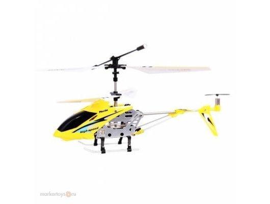 Игрушка Mioshi 1202-222МТЕЖ Вертолет Tech IR-222 желтый