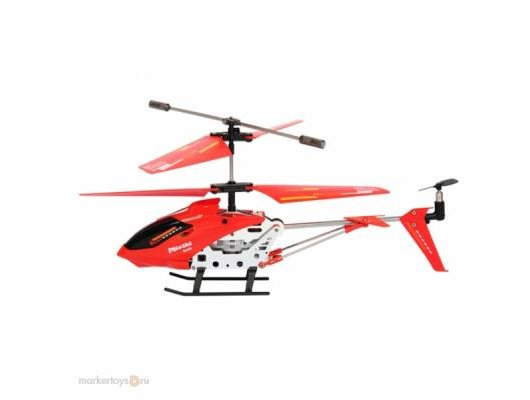 Игрушка Mioshi 1202-222МТЕК Вертолет Tech IR-222 красный