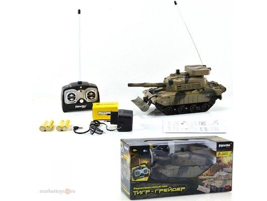Игрушка Mioshi 1207-017MAR Танк Тигр-грейдер